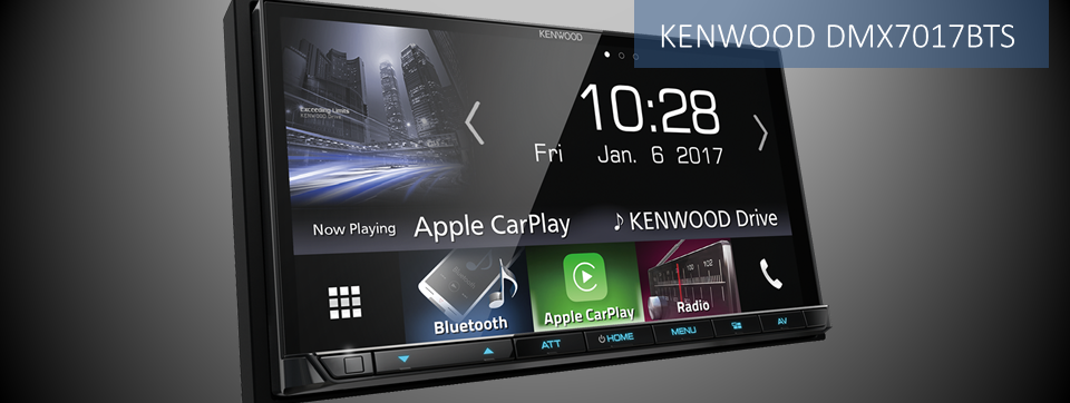 Kenwood DMX7017BTS multimedia navigation system